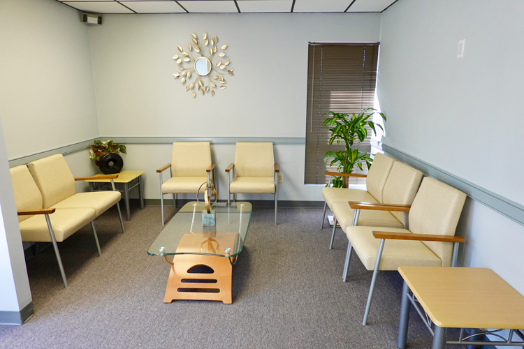 Waiting Room at Lawrenceville Foot Care